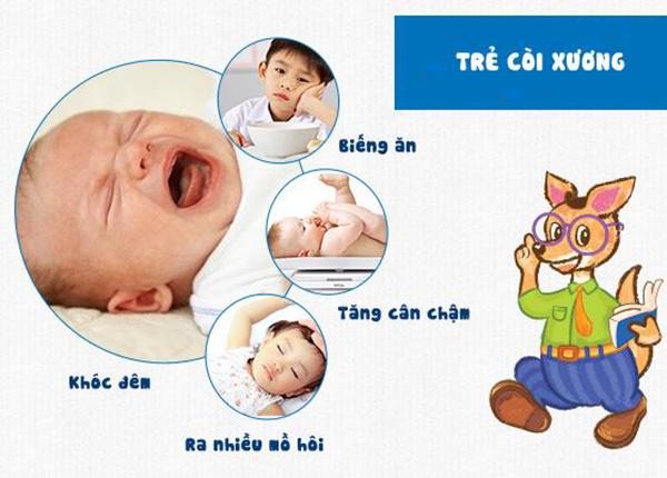 Dinh dưỡng ngừa còi xương cho trẻ
